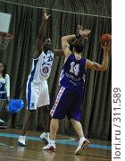 Купить «Баскетбол», фото № 311589, снято 3 мая 2004 г. (c) Морозова Татьяна / Фотобанк Лори