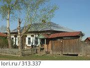Купить «Домик в деревне», фото № 313337, снято 19 мая 2008 г. (c) Талдыкин Юрий / Фотобанк Лори