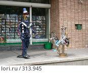 Купить «Роботы. Полицейский и водитель.», фото № 313945, снято 17 июля 2005 г. (c) sav / Фотобанк Лори