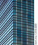 Купить «Ячеистая структура стен современного небоскреба», фото № 319689, снято 11 августа 2006 г. (c) Дмитрий Яковлев / Фотобанк Лори