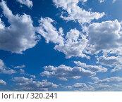 Купить «Небо с облаками и солнечным бликом», фото № 320241, снято 26 апреля 2008 г. (c) Алексей Пантелеев / Фотобанк Лори