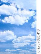 Купить «Облачное небо», фото № 320413, снято 24 августа 2019 г. (c) Роман Сигаев / Фотобанк Лори
