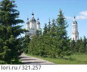 Купить «Наровчатский Троице-Сканов женский монастырь», фото № 321257, снято 7 июня 2008 г. (c) Ольга Смоленкова / Фотобанк Лори