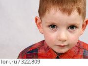Купить «Маленький мальчик», фото № 322809, снято 11 мая 2008 г. (c) Андрей Аркуша / Фотобанк Лори