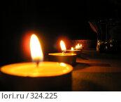 Линия огня. Стоковое фото, фотограф Сергей Карцов / Фотобанк Лори