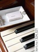 Купить «Клавиши пианино и пепельница с коробкой спичек. Крупный план», эксклюзивное фото № 324321, снято 8 июня 2008 г. (c) Татьяна Белова / Фотобанк Лори