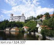 Купить «Замок Рожмберк», фото № 324337, снято 24 августа 2006 г. (c) Александр Пашкин / Фотобанк Лори