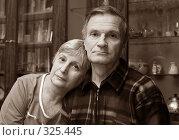 Купить «Пожилая пара», фото № 325445, снято 29 октября 2006 г. (c) Морозова Татьяна / Фотобанк Лори
