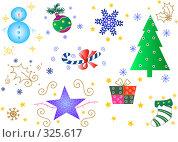 Рождественский орнамент. Стоковое фото, фотограф Даниил Кириллов / Фотобанк Лори