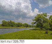Купить «Летний солнечный день на берегу реки», фото № 326701, снято 8 июня 2008 г. (c) Олег Рубик / Фотобанк Лори