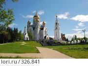 Купить «Храм», фото № 326841, снято 15 июня 2008 г. (c) Сергей  Коцюрубский / Фотобанк Лори