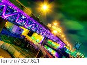 Купить «Мост через реку», фото № 327621, снято 19 января 2020 г. (c) Михаил Лукьянов / Фотобанк Лори