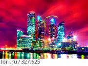 Купить «Строительство бизнес-центра», фото № 327625, снято 2 октября 2018 г. (c) Михаил Лукьянов / Фотобанк Лори