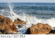 Купить «Крымский берег», фото № 327953, снято 5 сентября 2007 г. (c) ФЕДЛОГ.РФ / Фотобанк Лори
