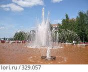 Купить «Фонтан в Ижевске», фото № 329057, снято 15 июня 2008 г. (c) Андрей Воронов / Фотобанк Лори