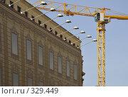 Купить «Реконструкция», фото № 329449, снято 11 мая 2008 г. (c) Vladimir Kolobov / Фотобанк Лори