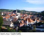 Купить «Панорама Крумлова», фото № 329545, снято 24 августа 2006 г. (c) Александр Пашкин / Фотобанк Лори