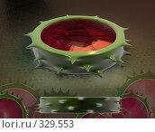Купить «Розовый стебель», иллюстрация № 329553 (c) Aleksei Simonov / Фотобанк Лори