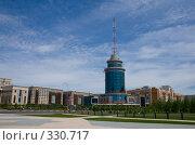 Купить «Вид на бизнес-центр. Астана.», фото № 330717, снято 15 июня 2008 г. (c) Михаил Николаев / Фотобанк Лори
