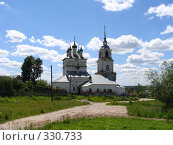 Церковь на окраине города Касимова (2008 год). Стоковое фото, фотограф Александр Бобиков / Фотобанк Лори