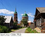 Ильинская церковь в городе Касимове (2008 год). Стоковое фото, фотограф Александр Бобиков / Фотобанк Лори