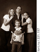 Купить «Семья», фото № 331197, снято 26 января 2008 г. (c) Морозова Татьяна / Фотобанк Лори