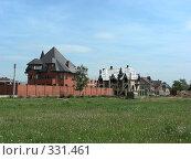 Купить «Квартал Абрамцево, Балашиха, Московская область», эксклюзивное фото № 331461, снято 9 июня 2008 г. (c) lana1501 / Фотобанк Лори