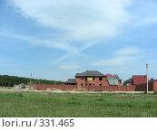 Купить «Квартал Абрамцево, Балашиха, Московская область», эксклюзивное фото № 331465, снято 9 июня 2008 г. (c) lana1501 / Фотобанк Лори