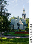 Купить «Кирха в г. Зеленогорск», фото № 332361, снято 2 июля 2007 г. (c) Михаил Браво / Фотобанк Лори