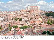Купить «Испания, вид на старинный город Толедо», фото № 333161, снято 12 сентября 2005 г. (c) Солодовникова Елена / Фотобанк Лори