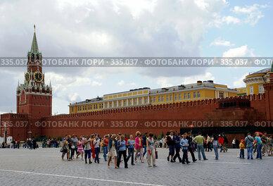 Купить «Москва. Красная площадь», фото № 335037, снято 25 июня 2008 г. (c) Julia Nelson / Фотобанк Лори