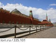 Купить «Москва. Красная площадь», фото № 335101, снято 25 июня 2008 г. (c) Julia Nelson / Фотобанк Лори