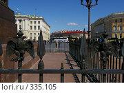Купить «Решетка вокруг Александрийского столба. Вандализм.», фото № 335105, снято 13 июня 2008 г. (c) Oksana Mahrova / Фотобанк Лори