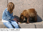 Купить «Медвежонок на работе», фото № 335253, снято 13 июня 2008 г. (c) Oksana Mahrova / Фотобанк Лори