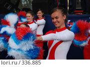 Купить «Встреча сборной России по футболу», фото № 336885, снято 27 июня 2008 г. (c) Юлия Жемкова (Хаки) / Фотобанк Лори