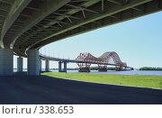 Купить «Ханты-Мансийск, мост через Иртыш», фото № 338653, снято 23 июня 2008 г. (c) Круглов Олег / Фотобанк Лори