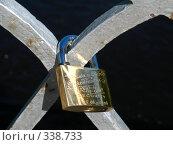 Замок молодоженов на мосту (2008 год). Редакционное фото, фотограф Ноева Елена / Фотобанк Лори
