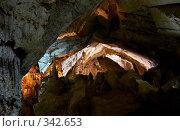 Купить «В Мраморных пещерах (Крым, Чатырдаг)», фото № 342653, снято 23 мая 2008 г. (c) Олег Титов / Фотобанк Лори
