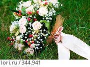 Купить «Свадебный букет», фото № 344941, снято 4 июля 2008 г. (c) Ольга С. / Фотобанк Лори