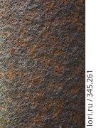 Купить «Ржавая металлическая поверхность», фото № 345261, снято 3 июля 2008 г. (c) Werin / Фотобанк Лори