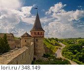 Замок. Каменец-Подольский/Украина., фото № 348149, снято 9 июня 2008 г. (c) Liseykina / Фотобанк Лори