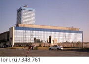 Купить «Административное здание автозавода ВАЗ в Тольятти», эксклюзивное фото № 348761, снято 22 октября 2019 г. (c) Free Wind / Фотобанк Лори