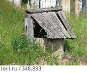 Купить «Деревенский колодец», фото № 348893, снято 5 июля 2008 г. (c) Хименков Николай / Фотобанк Лори