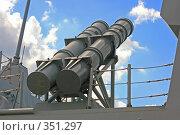 Купить «Ракетная установка, сделанная в Италии», фото № 351297, снято 1 июля 2007 г. (c) Ivan Korolev / Фотобанк Лори
