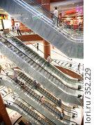 Купить «Эскалаторы», фото № 352229, снято 25 марта 2019 г. (c) Losevsky Pavel / Фотобанк Лори
