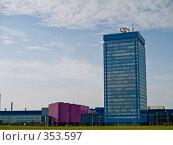 """Купить «Главное здание ОАО """"АвтоВАЗ"""". Тольятти», фото № 353597, снято 13 июня 2008 г. (c) Liseykina / Фотобанк Лори"""