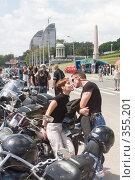 Любовь и мотоциклы (2008 год). Редакционное фото, фотограф Олег Ивашкевич / Фотобанк Лори