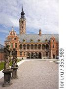 Купить «Фламандская архитектура», фото № 355989, снято 24 мая 2008 г. (c) Михаил Лавренов / Фотобанк Лори