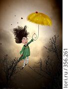 Купить «Детство Мэри Поппинс, или Алиса в Зазеркалье», иллюстрация № 356261 (c) Андреева Екатерина / Фотобанк Лори