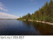 Купить «На берегу озера», фото № 359857, снято 14 июля 2008 г. (c) Владимир Тимошенко / Фотобанк Лори